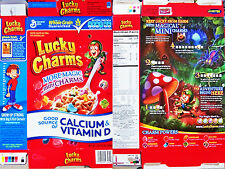 2009 Lucky Charms Cereal box shm311