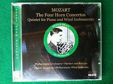 1 CD Musica , MOZART Dennis BRAIN - HORN CONCERTOS PIANO , Naxos 8.111070 (2007)