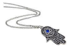 Collana  portafortuna Hamsa Mano di Fatima -  Contro le negatività e malocchi