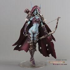 "Figura de acción / Action Figure WOW Darkness Lady Sylvanas  Windrunner 7 """