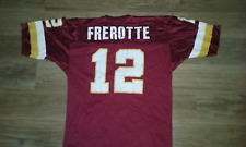 Champion Washington Redskins # 12 GUS FREROTTE Jersey Adult 44 EXCELLENT.!!