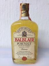 Balblair 5yo Pure Malt Whisky 75cl 40% Vol Vintage anni 80