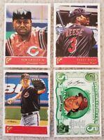 2001 Topps Gallery - Ken Griffey Jr & Johnny Bench - Cincinnati Reds - 4 Cards