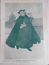 1911 Original Print Le Second Père Duchesne dessin de A. Barrère
