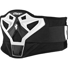 FASCIA LOMBARE THOR SECTOR BELT ADULTO WHITE TAGLIA UNICA  CROSS ENDURO QUAD