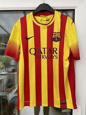 More details for vintage fc barcelona away football shirt  2013 2014 adult medium