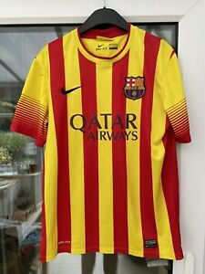 Vintage FC Barcelona away football shirt  2013 2014 Adult Medium