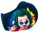 The Joker Face Mask Halloween Batman Movie Reusable Washable Mouth Cover
