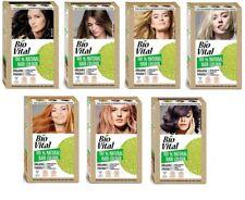 BIO VITAL 100% Natural Hair Dye Color  Vegan Formula Amonia FREE