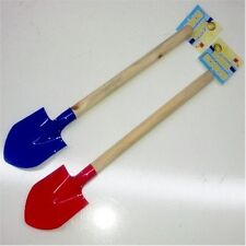Beach Toys - 2 Small Wooden Handle Shovel (Ty008)