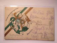 Berlin - Acad. pharmacognostischer Verein - 1908 - Wappen / Studentika Cimbria