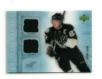 2007-08 UPPER DECK ICE FROZEN FABRICS PARALLEL #FFSC SIDNEY CROSBY /100