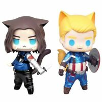 8cm Anime Figure Thor Captain America Winter Soldier Loki nendoroid Joker Toy