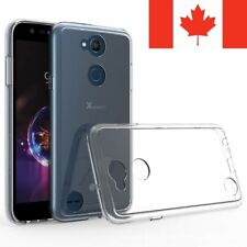 For LG X Power 3 Case - Crystal Clear Thin Soft TPU Transparent Back Cover