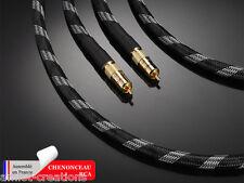 Câbles audio CHENONCEAU RCA de prestige - Real Cable - 2 x 1,50 m