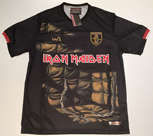 Piece of Mind Iron Maiden Soccer Jersey - Wa Sports New with Tags L-2XL