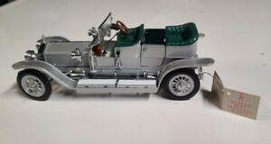 Franklin Mint 1907 Rolls Royce Silver Ghost 1:24 Precision Model Car Diecast
