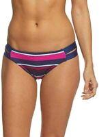 Jag Women's Swimwear Purple Size Medium M Striped Retro Bikini Bottom $40 #094