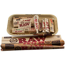 RAW Rolling Papers & Tray Gift Set Perfect Gift - Christmas Paper Cone Set