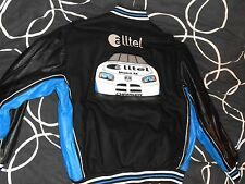 NASCAR Ryan Newman #12 Alltel Embroidered Wool/Leather Reversible XXL Jacket NWT