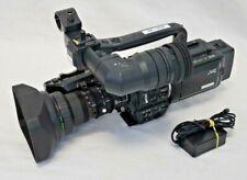 JVC GY-HD100U 3CCD HD MiniDV Pro Camcorder | w/16x Fujinon Lens & Low Hours nc