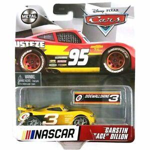 Disney Pixar Cars NASCAR Carstin Ace Dillon Metal Car