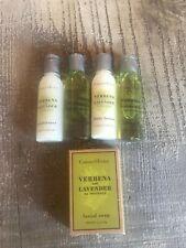 CRABTREE & EVELYN Set VERBENA LAVENDER Facial Soap Conditioner shampoo travel