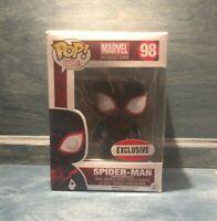 Spider-Man Miles Morales Funko POP 98 Marvel Collector Corps EXCLUSIVE