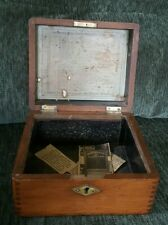 HUMPHREYS VETERINARY VET REMEDIES MEDICINE WOODEN BOX VINTAGE FARM