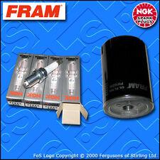 SERVICE KIT for SEAT LEON (1M) CUPRA 1.8 T 20V FRAM OIL FILTER PLUGS (1999-2006)