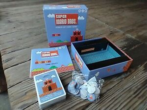 Super Mario Bros Power Up Card Game USAopoly 3 to 8 Players Age 8 Plus C