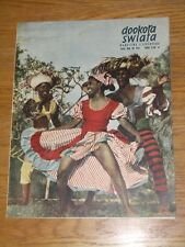 VERY RARE Polish magazine 1958 * Marylin Monroe