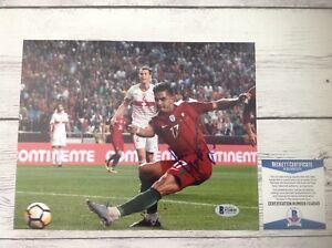 Andre Silva Signed Autographed 8x10 Photo AC Milan Beckett BAS COA a