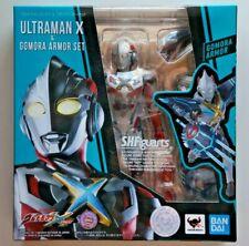 S.H. Figuarts Ultraman X Gomora & Armor Set Ultraman X Bandai NEW US Seller