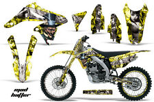 AMR Racing Suzuki RMZ 250 Number Plate Graphics Kit Bike Wrap Decals 10-15 MDHTR