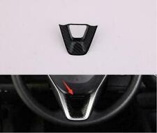 For 2019 Toyota RAV4 Carbon Fiber Style Steering Wheel Trim 1pcs