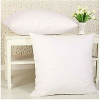 "18"" (45x45CM) Cushion Pads Extreme Fill Plump Hollowfibre Inners Fillers Scatter"