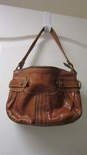Fossil Brown Leather Handbag Shoulder Bag