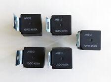 5) J45E12 Universal 12V 5 Pin SPDT 30/40 Amp Relay for Car Installation System