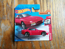 ✨ NEW MODEL ❝ '89 PORSCHE 944 TURBO ❞ Hot Wheels 2020 # Red Car