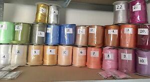 Satin Bias Binding (15 mm) Tape 5 metres - BUY 5 PACKS GET 1 PACK FREE !!!