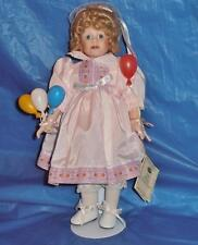Margie Costa Vintage Porcelain Doll ( Shelby ) The Royal Col. Limted. Ed., Coa