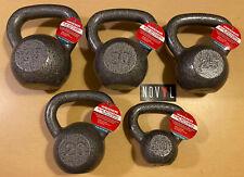 Weider Cast Iron Kettlebell 10, 15, 20, 25, 30 & 35 lb Single ✅ Choose Weight ✅