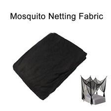 "2xShatex Black Black Post Bed Canopy Mosquito Netting Bedding 4 Corner 60""x5Yard"