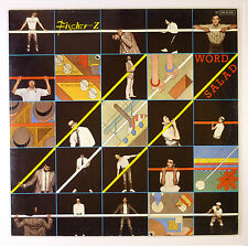 """12"""" LP - Fischer-Z - Word Salad - B2824 - washed & cleaned"""