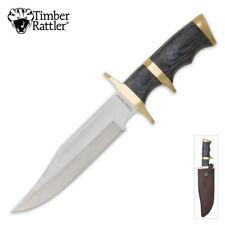 Timber Rattler Buffalo Joe Bowie Knife NEW TR100