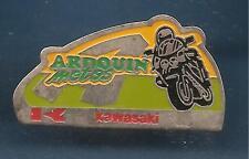 Pin's pin MOTO KAWASAKI ARDOUIN MOTOS (ref F)