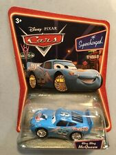 Disney Pixar Cars Movie Lightning McQueen Bug Mouth Supercharged Die Cast Toy Ca