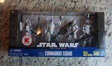 Clone Commando Squad BATTLE Packs Pack STAR WARS The Clone Wars TCW K-Mart EXCL