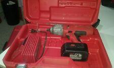 "Milwaukee 9079-20 1/2"" Drive 18V Cordless Impact Wrench 9079-22 Kit battery"